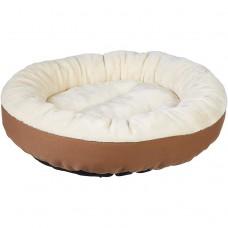 Šuns gultas, 50 x 50 x 15 cm. Kreminė, ruda spalvos UA-1023