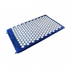 Mėlynas akupresūros masažinis kilimėlis
