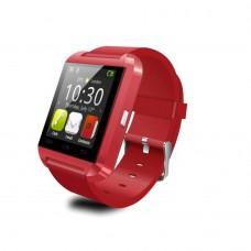 Raudonas išmanusis laikrodis (U8)