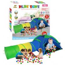 Vaikiška žaidimų palapinė su tuneliu OC102