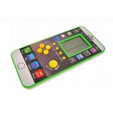 """Elektroninio žaidimo """"Tetris"""" kišeninė versija, žalia"""