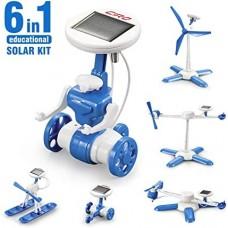 6 in 1 solar kit – robotas konstruktorius B8B