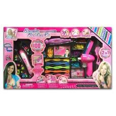 Apyrankių ir kasyčių pynimo rinkinys mergaitėms B50