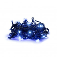 300 LED Kalėdinė lempučių girlianda 25,5m., mėlyna šviesa