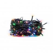 100 LED Kalėdinė lempučių girlianda 9,5m., ivairiaspalvė