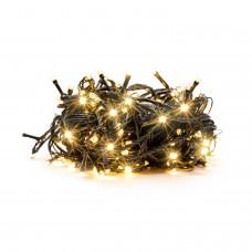 100 LED Kalėdinė lempučių girlianda 9,5m., šilta šviesa