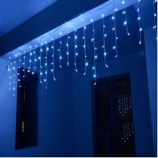 """200 LED Kalėdinė girlianda """"Varvekliai"""", ilgis 7,5m., mėlyna šviesa"""