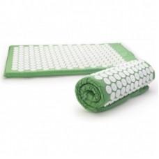Žalias akupresūros masažinis kilimėlis