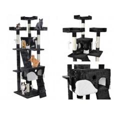 Draskyklė katėms, 170 cm, juoda