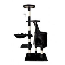 Draskyklė katėms, 118cm. Juoda (UA-03 Black)