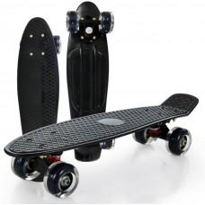 Vaikiška riedlentė Fishboard, 42x13cm, juoda