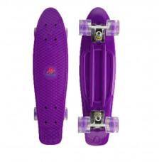 Vaikiška riedlentė Fishboard, 69x19cm, violetinė