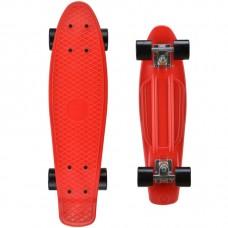 Vaikiška riedlentė Fishboard, 56x15cm, raudona