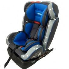 Automobilio kėdutė vaikams, mėlyna, 46 x 50 x 63