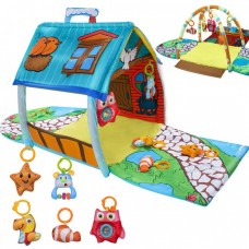 Lavinamasis kilimėlis-namelis vaikams,142x142x45 cm.