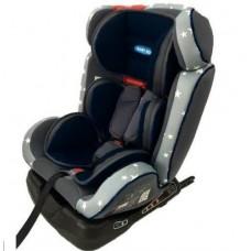 Automobilio kėdutė vaikams, juoda, 46 x 50 x 63