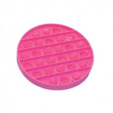 Antistresinis apvalus kilimėlis , rožinė