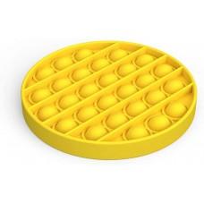 Antistresinis apvalus kilimėlis, geltonas