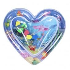 Vandens čiužinys širdelės formos